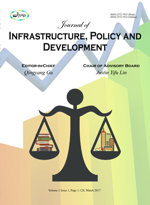 Journal of Infrastructure, Policy and Development